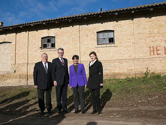 US Secretary of Commerce Penny Pritzker visited the village of Velyki Prizki, 2015 | Photo by the US Embassy in Ukraine